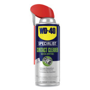 WD-40 Specialist Contact Cleaner, 11 oz, Aerosol Can, Hydrocarbon/Alcohol Odor, 6 CA, #300554