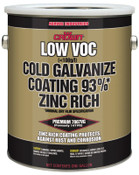 Aervoe Industries Low VOC Cold Galvanize Coating, 1 Gallon Can, 1 GA, #7007VG