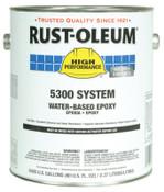 Rust-Oleum Industrial 1 Gal 5300 WB Epoxy Silver Gray Base, 2 CA