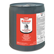 CRC Brakleen Brake Parts Cleaners, 5 gal Pail, #5091