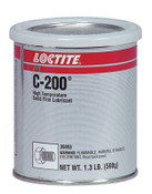 Loctite C-200 High Temperature Solid Film Lubricants, 1.3 lb Can, 1 CAN, #233496