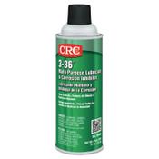 CRC 3-36 Multi-Purpose Lubricant & Corrosion Inhibitor, 16 oz Aerosol Can, 12 CAN, #3005