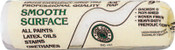 Linzer Shed-Resistant Roller Covers, 18 in, 1/4 in Nap, White Woven, 24 EA, #RC10018CC