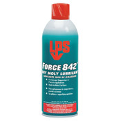 ITW Pro Brands Force 842° Dry Moly Lubricants, 16 oz Aerosol Can, 12 CN