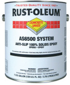 Rust-Oleum Industrial 1 Gal A-S/100%S Flr Ctng Kt Slvr Gry, 1 KT, #AS6582425