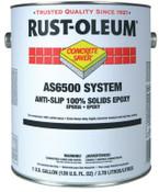 Rust-Oleum Industrial 1 Gal A-S/100%S Flr Ctng Kt Slvr Gry, 1 KT