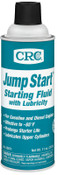 CRC Jump Start Starting Fluid with Lubricity, Net 11 oz, 12 CN, #5671