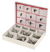 Alemite All Purpose Fitting Assortments, Includes Selection of Popular Sized Fittings, 1 AST