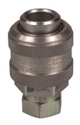Alemite Extra Heavy Duty Air & Water Fittings, Straight, Male/Female, 1/4 in (NPTF), 1 EA, #328030