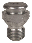 Alemite Button Head Fittings, Straight, 1 15/16 in, Male/Male, 3/8 in (NPTF), 1 EA, #1822A1