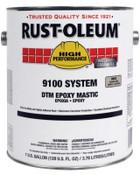 Rust-Oleum Industrial 1 Gal 9100 DTM Epoxy Mastic Fast Cre Acti, 2 CA