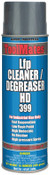 Aervoe Industries Low Flash Cleaners/Degreasers, 15 oz Aerosol Can, 12 EA, #399