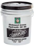 Lubriplate Bio-Based Hydraulic Oil, ISO 46, 5 gal, Pail, 1 PA, #L1051060