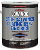 Aervoe Industries Low VOC Brite Galvanize Coating, 1 Gallon Can, 1 GA, #7008VG