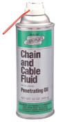 Lubriplate Chain & Cable Fluids, 7 lb Jug, 4 CTN, #L0135007