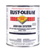 Rust-Oleum Industrial 1 Gal A-S/HP Floor Coat Kit Slvr gry, 1 KT