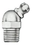 Alemite Hydraulic Fittings, Elbow - 45°, 57/64 in, Male/Male, 1/8 in (PTF), 1 EA, #1688B
