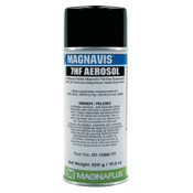 Magnaflux Magnavis 7HF BK Visible Magnetic Particle Wet Method Prepared Bath, 16oz Aerosol, 12 CAN