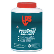 ITW Pro Brands Food Grade Anti-Seize Lubricants, 1 lb Bottle, 1 EA, #6510