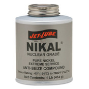 Jet-Lube Nikal High Temperature Anti-Seize & Gasket Compounds, 1 lb Can, 1 CN, #13604