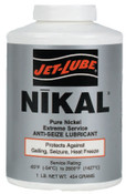 Jet-Lube Nikal High Temperature Anti-Seize & Gasket Compounds, 1/2 lb Can, 1 CN, #13602