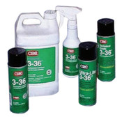 CRC 3-36 Multi-Purpose Lubricant & Corrosion Inhibitor, 6 oz Aerosol Can, 12 CAN, #3004