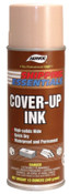 Aervoe Industries Cover-Up Ink, 12 oz Aerosol Can, Tan, 12 CAN, #2811