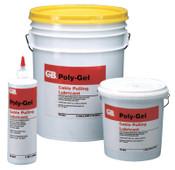 Gardner Bender Poly-Gel Cable Pulling Lubricants, 1 gal Pail, 4 CS, #79202