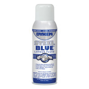 ITW Pro Brands Layout Fluid, 16 oz Aerosol Can, Blue, 12 CN, #80000