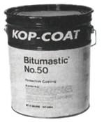 Bitumastic Protective Coatings, No 50, Black/Tar, 1 gal, 4 GAL