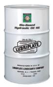 Lubriplate Bio-Based Hydraulic Oil, ISO 46, 55 gal, Drum, 1 DR, #L1051062