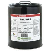Magnaflux Spotcheck SKL-WP2 Water Washable Penetrants, Liquid Penetrant, Pail, 5 gal, 1 EA