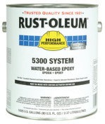 Rust-Oleum Industrial 1 Gal 5300 WB Epoxy Safety Yellow Base, 2 CA, #5344408