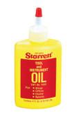 L.S. Starrett Tool & Instrument Oils, 4 oz, Bottle, 12 BTL, #53216
