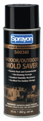 Krylon Industrial Indoor/Outdoor Mold Savers, 13 oz, Aerosol Can, 12 CAN, #S00361000