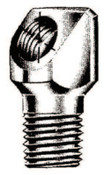 Alemite Elbow Bodies, Elbow - 90°, 1 1/8 in, Male/Female, 1/8 in (PTF), 1 EA, #43706