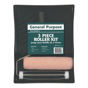Krylon Industrial General Purpose 3 Piece Kits, 3/8 in Nap, 6 CA