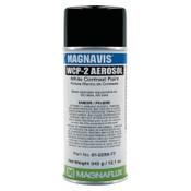 Magnaflux Magnavis WCP-2 Contrast Paint, 16 oz, Aerosol Can, White, 12 CAN