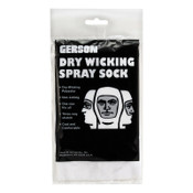 Gerson Painter's Spray Sock, One Size Fits All, Dry-Wick Polyester, Economy, 144 CA, #070195B