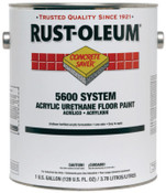 Rust-Oleum Industrial 1 Gal 100 Acrylic Urethane sfty Blu, 2 CA