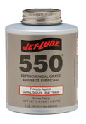 Jet-Lube 550 Nonmetallic Anti-Seize Compounds, 1 lb Brush Top Can, 12 CS, #15504