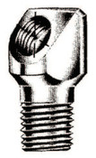 Alemite Elbow Bodies, Elbow - 90°, 1 3/16 in, Male/Female, 1/4 in (PTF), 500 EA, #43718