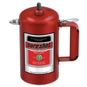 Milwaukee Sprayer Sure Shot Sprayers, 1 qt, Steel, Red, 1 EA, #1000R
