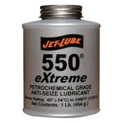 Jet-Lube 550 Extreme Nonmetallic Anti-Seize Compound, 1 lb Brush Top Can, 12 CA