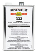 Rust-Oleum Industrial Rust-Oleum High Performance 333 Thinner, 2 CA, #333402
