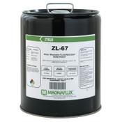 Magnaflux Zyglo ZL-67 Water Washable Fluorescent Penetrants, Liquid, Pail, 5 gal, 1 EA
