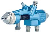 Binks Spray Guns, 1/4 in (NPSM), 6 SCFM - 22 SCFM, 1 EA, #620312044