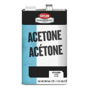 Krylon Industrial Acetone Thinner and Reducer, 1 gal Can, 4 GA, #K0166300016