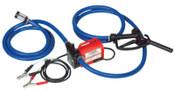 Fill-Rite Rotary Vane Pumps, 12 VDC, 3/4 in (NPT), 8 ft Hose, 1 EA, #FR1614