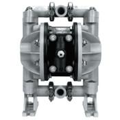 Ingersoll Rand Diaphragm Pumps, 1/2 in (NPTF) Outlet, Aluminum/SS - Polypropylene/Neoprene, 1 EA